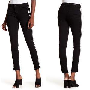 Articles of Society Sarah Cut Off Hem Denim Jeans